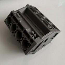 V8 Engine Block 3D Printed Business Card Holder