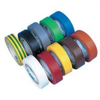 Electrical tape 15mm 10m Pack Of 10 Colours
