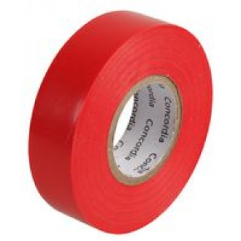 Electrical Tape 20m x 19mm Red