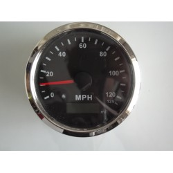 Tenet Waterproof Nautical Marine Analogue GPS Speedometer In MPH