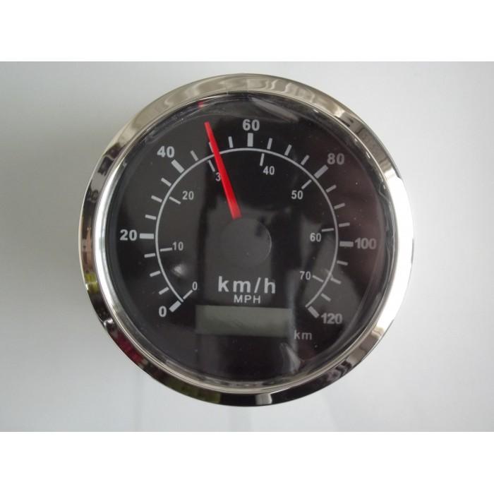 Tenet Waterproof Nautical Marine Analogue GPS Speedometer In MPH/KPH