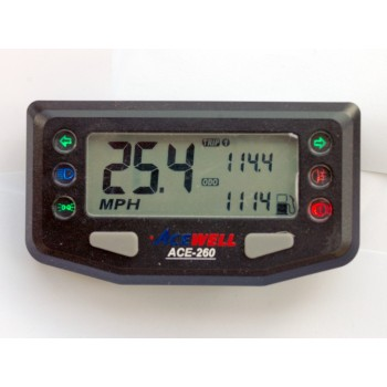 Ace 260 Digital Speedo