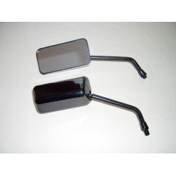 F1 Style Black mirrors