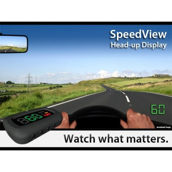 HUD Speedo - Driving School Secondary Speedo - Simple 3 wire fitting