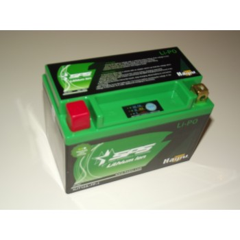 LIPO12D Replaces YT12A-BS Lithium Ion Motorcycle Battery