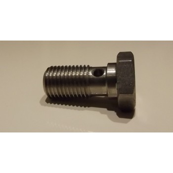 Single Banjo bolt for brake hose