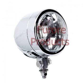 Single Dominator Headlamp - Chrome