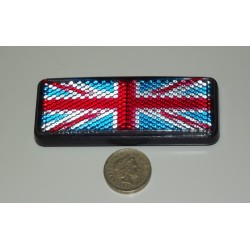 Union Jack UK Flag Reflector - Great for British Bikes or Cars